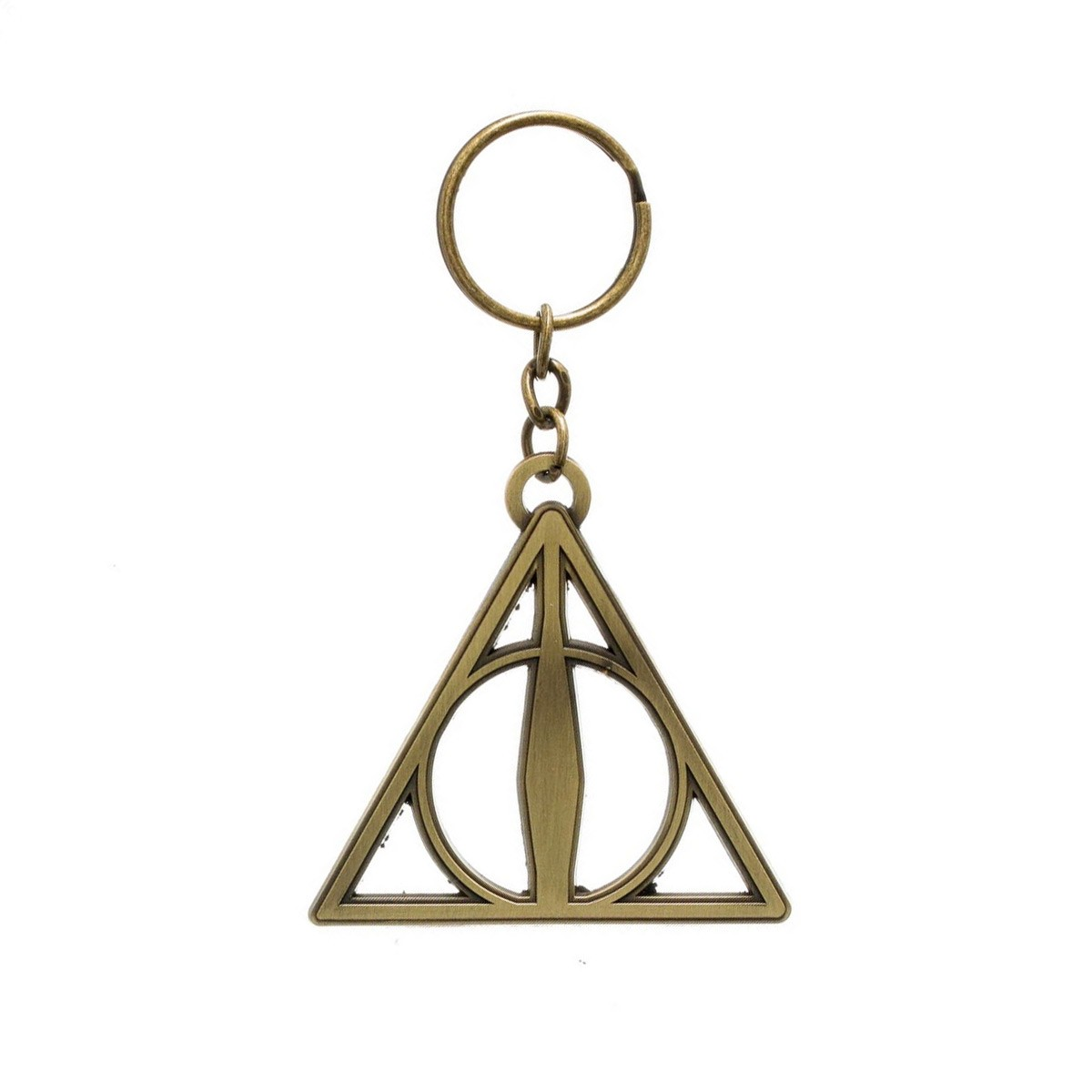Harry Potter Deathly Hallows Horcrux Symbol Keyring