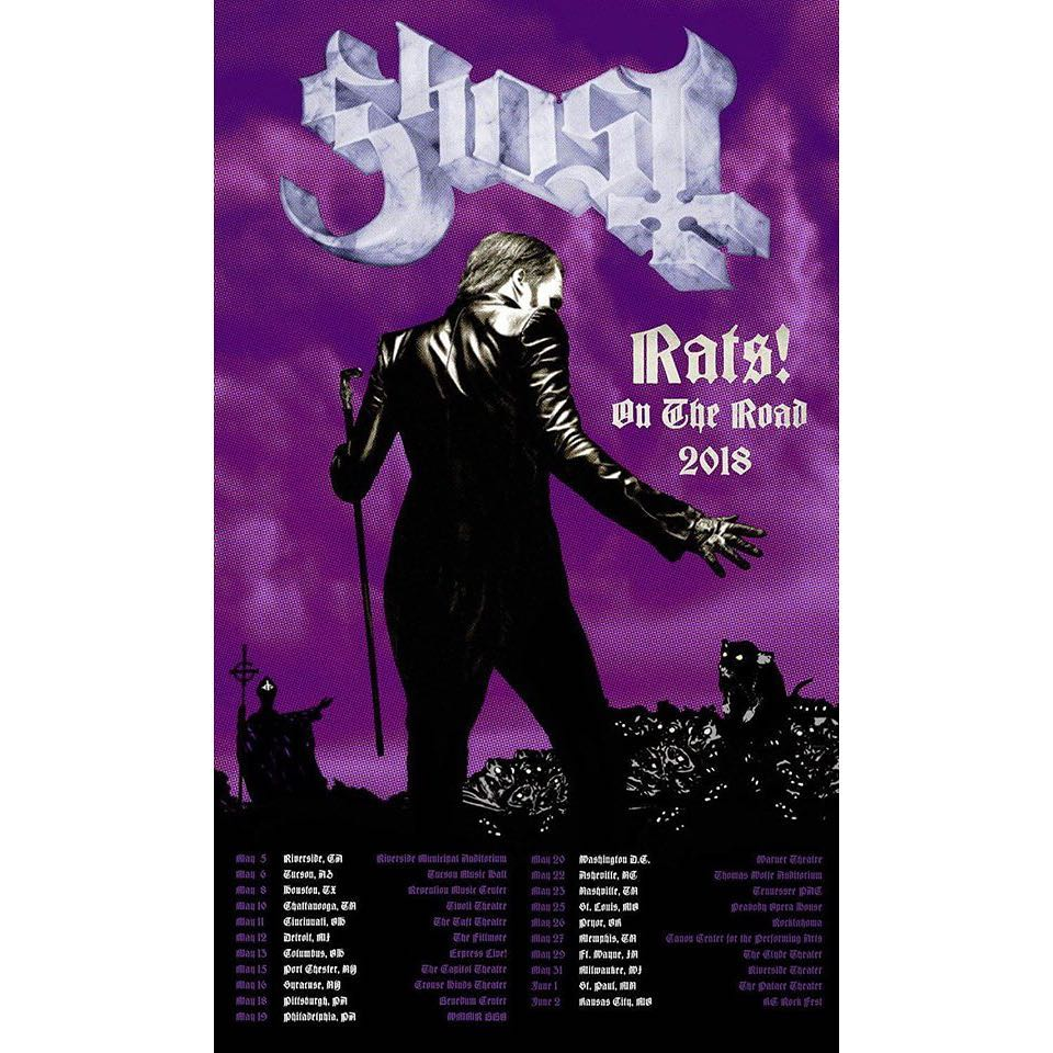 Ghosts papa emeritus iv revealed as rats on the road tour is ghosts papa emeritus iv revealed as rats on the road tour is announced gear4geeks blog kristyandbryce Images