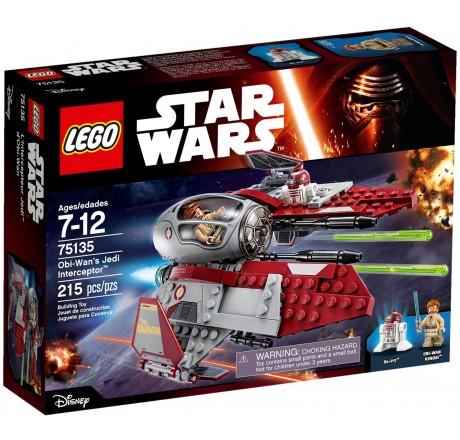 LEGO Star Wars Obi-Wan's Jedi Interceptor 75135 - RETIRED | Gear4Geeks