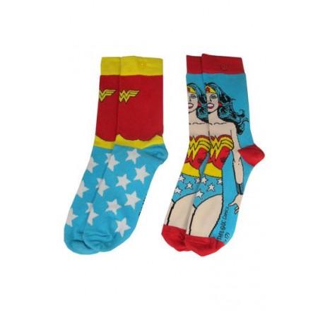 Wonder Woman Socks 2 Pack DC Originals