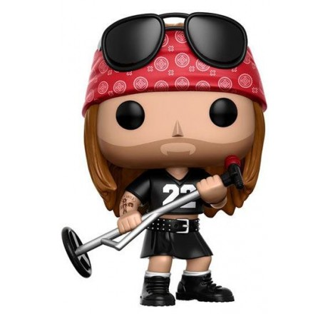 Guns N Roses Axl Rose Funko Pop Vinyl Figure