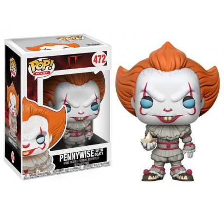 It Pennywise with Boat Funko Pop Vinyl