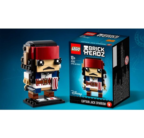 Lego Brickheadz Captain Jack Sparrow 41593