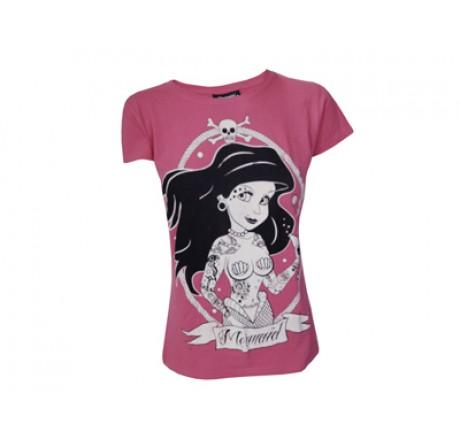 Mermaid Ladies Pink T-Shirt