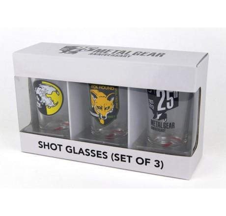 Metal Gear Solid Shotglasses