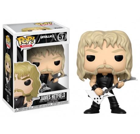 Metallica James Hetfield Funko Pop Vinyl Figure   Gear4Geeks
