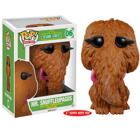 Sesame Street Mr Snuffleupagus Funko Pop Vinyl Figure VAULTED