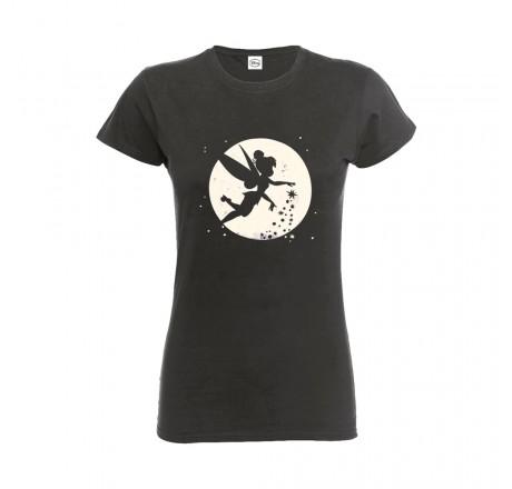 Disney Tinkerbell Moon Ladies Fitted T-Shirt | Gear4Geeks