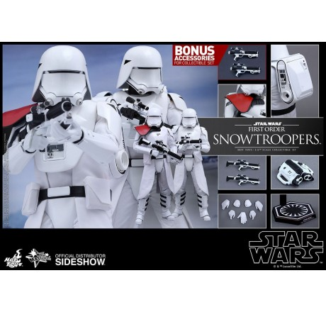 Star Wars Episode VII First Order Snowtroopers 2-Pack Movie Masterpiece Action Figure 1/6 | Gear4Geeks
