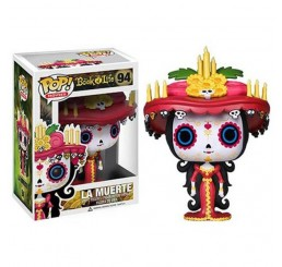 Book of Life La Muerte Glow in the Dark Hot Topic Exclusive Funko Pop - VAULTED