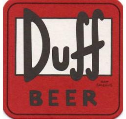 Simpsons Duff Beer coasters