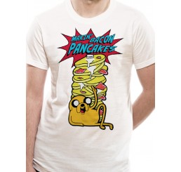 Adventure Time Making Bacon Pancakes T-Shirt