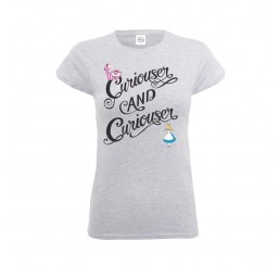 Disney Alice in Wonderland Curiouser and Curiouser T-Shirt