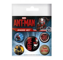 Ant-Man Pin Badges 5-Pack