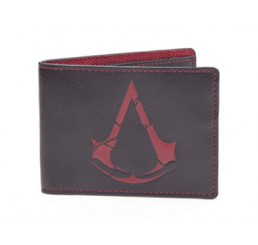 Assassin's Creed Rogue Wallet Bifold Red Logo