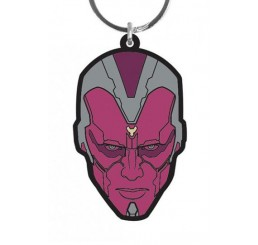 Avengers The Vision Rubber Keychain