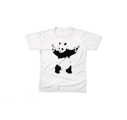Banksy Gun Panda T-Shirt
