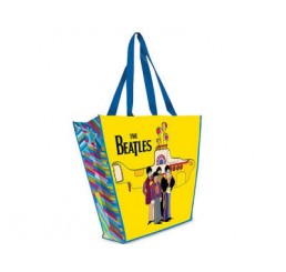 The Beatles Yellow Submarine Reusable Shopping Tote Bag