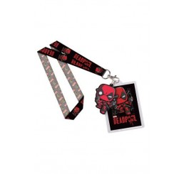 Marvel Comics POP! Lanyard with Rubber Keychain Deadpool