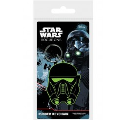 Star Wars Rogue One Rubber Keychain Death Trooper