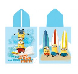 Despicable Me Poncho Towel - Minions Surf