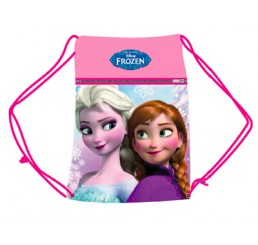 Disney Frozen Anna and Elsa Gym Bag Pink