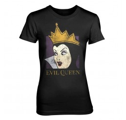 Disney Snow White Evil Queen Fitted T-Shirt
