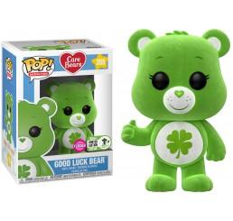 Care Bears Good Luck Bear Flocked ECCC Exclusive Funko Pop Vinyl Figure