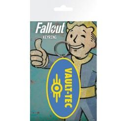 Fallout Vault-Tec Rubber Keyring