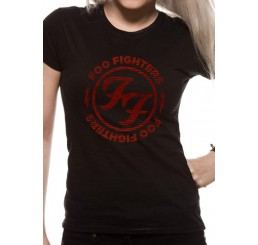 Foo Fighters Logo Fitted T-Shirt