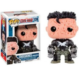 Captain America Civil War Crossbones Unmasked Funko Pop Vinyl