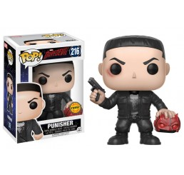 The Punisher Daredevil Marvel Funko Pop Vinyl Figure Chase Version