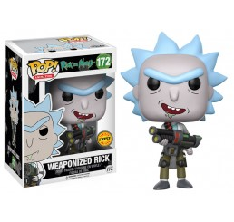 Rick and Morty Weaponized Rick Funko Pop Chase Version