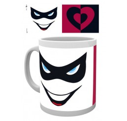 DC Comics Mug Harley Quinn Mask and Lips