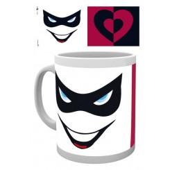 DC Comics Mug Harley Quinn Mask and Lips