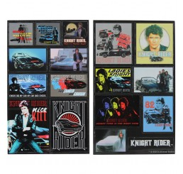 Knight Rider Fridge Magnet set