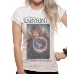 Labyrinth You Remind Me of the Babe Fitted Ladies T-Shirt