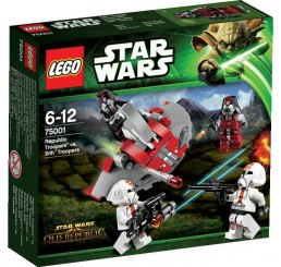 Lego Star Wars Republic Troopers vs. Sith Troopers 75001  - RETIRED