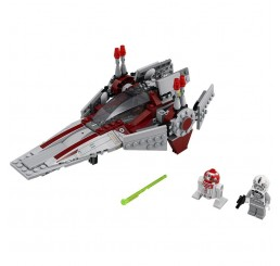 LEGO Star Wars 75039: V-Wing Starfighter Preowned, no box Retired