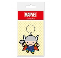 Thor Kawaii Rubber Keychain Marvel