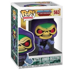 Masters of the Universe Skeletor in Battle Armour Funko Pop Vinyl Figure