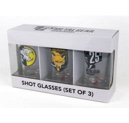 Metal Gear Solid Shotglasses