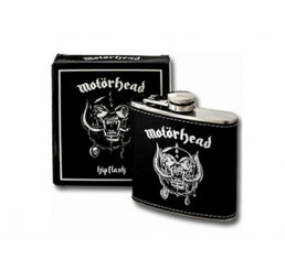 Motörhead Logo Hip Flask