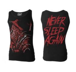 """Darkside Clothing Nightmare On Elm Street Freddy Krueger """"Never Sleep Again"""" Vest"""