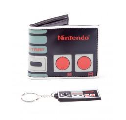 Nintendo Controller Wallet & Keyring Set