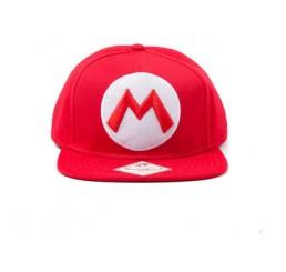Nintendo Mario Logo Baseball Cap
