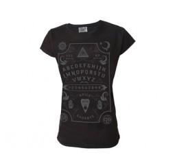 Darkside Clothing Ouija Board Ladies T-Shirt
