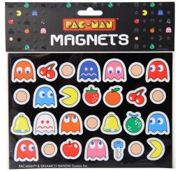 Pac Man Magnets