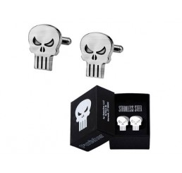 Marvel The Punisher Skull Cufflinks
