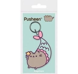 Pusheen Purrmaid Rubber Keychain 6 cm